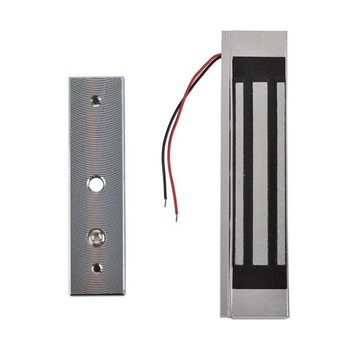 bilder für Zugangskontrolle Einzelne Tür 12 V Elektro Magnetic Elektromagnetische Verriegelung 180 KG (300LB) Haltekraft