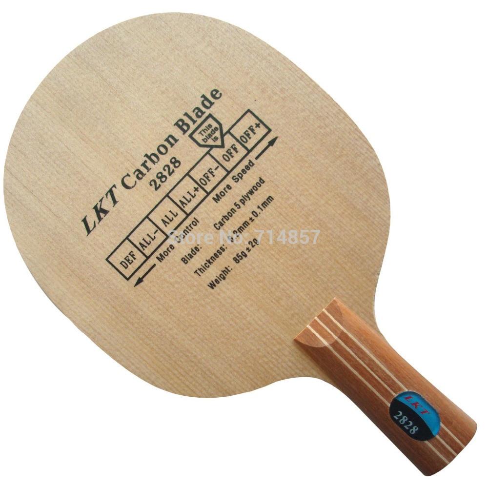 Original LKT 2828 penhold short handle CS table tennis pingpong blade original dhs h wh h wh penhold short handle cs table tennis pingpong blade