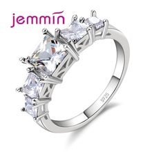 Jemmin Charms Fashion Full Rhinestone Finger Rings Mosaic Cl