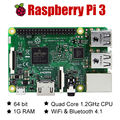 Raspberry Pi 3 Model B ARM Cortex-A53 CPU 1.2GHz 64-Bit Quad-Core 1GB RAM 10 Times B+ Free Shipping