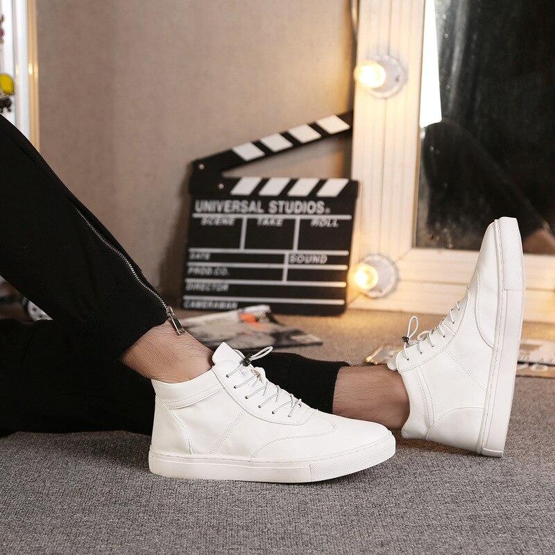 Cuero 2018 Moda Vestido De Oficina Formales Negro Mens Estilo Planos blanco Lujo Auténtico Zapatos Lc9351 Nuevo Del Diseñador Hombres rxrvtAw1q