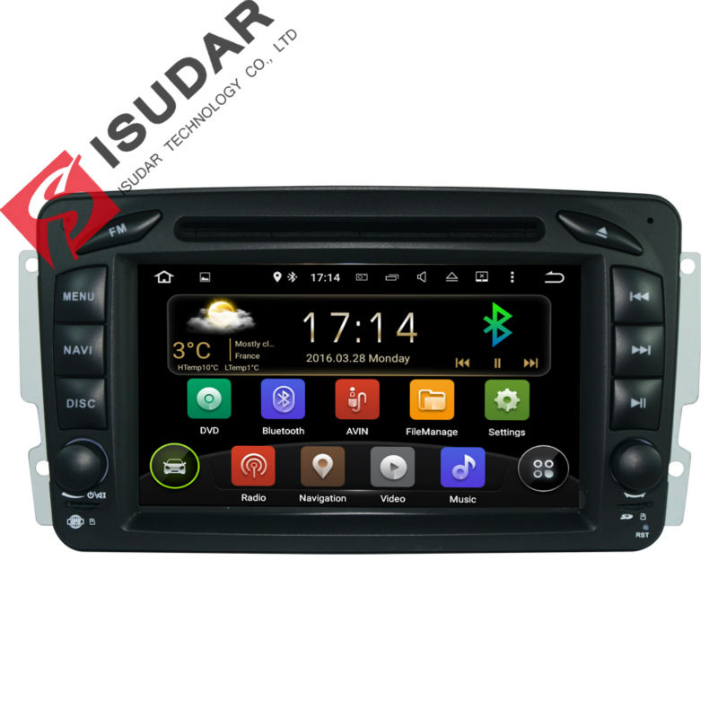font b Android b font 5 1 1 7 Inch Car DVD Player For Mercedes