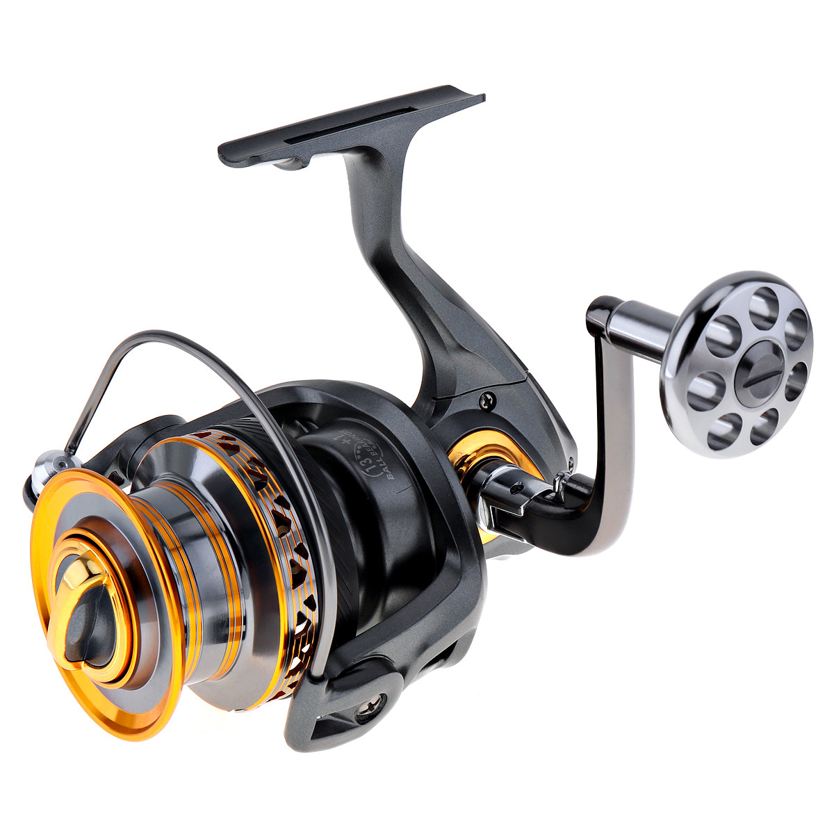 Aluminum Metal Spool Spinning Fishing Reel 6000 7000 Series 13 1 Ball Bearings Left Right Hand