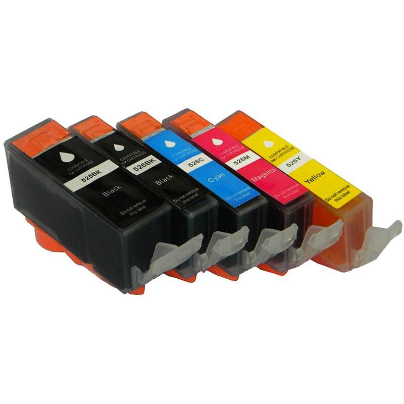 Pgi-525 cli-526 tintenpatronen für canon pgi525 cli526 pixma ip4850 ip4950 ix6550 mg5150...