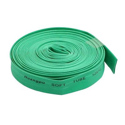 10M 8mm Dia Green Polyolefin Heat Shrinking Shrinkable Tubing Tubes retardant heat shrink tubing shrinkable tube diameter cables 120 roll sale