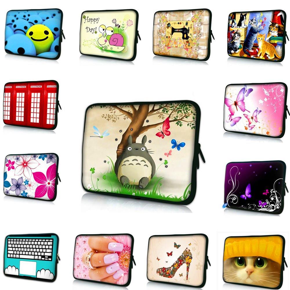 Waterproof Laptop Sleeve Bag Notebook Case Handbag For iPad Macbook PC 7.9 9.7 11.6 13 14 15 15.6 17.3 inch Women Men Kid bag #E