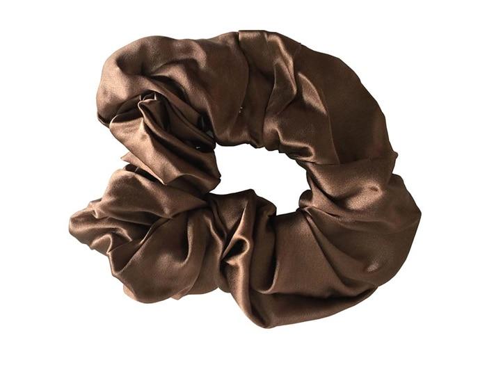 Gratis frakt 100% Pure Silk Hair Scrunchies Charm Hair Bands Mode - Kläder tillbehör - Foto 5