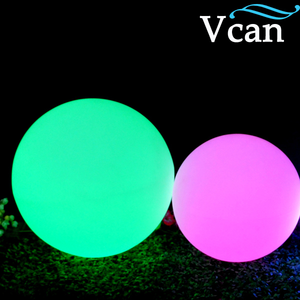ФОТО 20cm Waterproof LED Light Ball for garden VC-B200