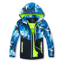 Dziewczęcy płaszcz chłopięcy zdejmowany kaptur jesienno zimowa odzież wierzchnia wiatrówka wodoodporny płaszcz kurtka dla dzieci dla dzieci z kapturem dla chłopców
