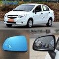 SmRKE Für Chevrolet Sail Auto Rückspiegel Weitwinkel Hyperbola Blau Spiegel Pfeil LED Drehen Signal Lichter-in Spiegel & Abdeckungen aus Kraftfahrzeuge und Motorräder bei