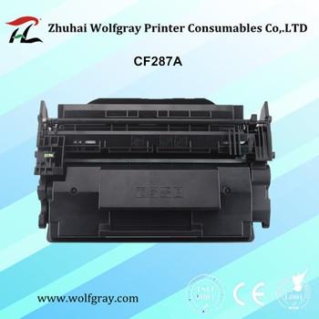 Compatible toner cartridge for HP CF287A 287A for printer LaserJet Enterprise MFP M527