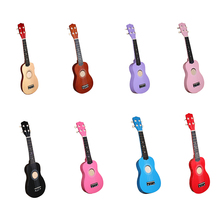 2019 New 21 Soprano Ukulele Basswood Nylon 4 Strings Guitarra Acoustic Bass Guitar Musical Stringed Instrument for Beginners zebra 6 strings 38 inch folk acoustic electric bass guitar guitarra ukulele with case box for musical stringed instrument lover