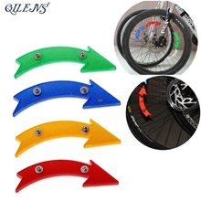 QILEJVS MTB Road Bike Bicycle Reflector Cycling Arrow Shape Safe Warning Accessories New INY