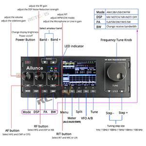Image 3 - RETEVIS Ailunce HS1 HF SDR verici SSB telsiz amatör radyo HF alıcı verici QRP 15W 0.5 30MHz SSB radyo CW AM FM HF bandı