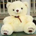 Hot Sale 50cm plush toy bear large doll teddy bear high quality wedding girl gift for Christmas free shipping