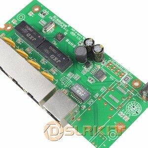 Image 4 - DSLRKIT enjektör Power Over Ethernet 5 port 4 PoE anahtarı güç adaptörü olmadan