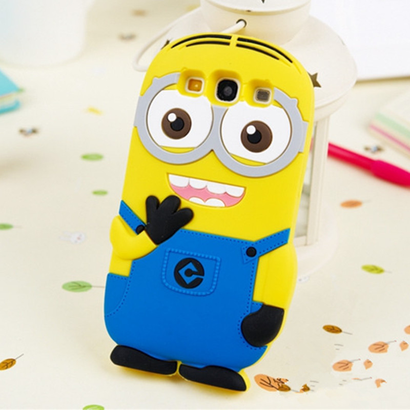 4f153beb14e Despicable Me minion Case for Samsung Galaxy S3 i9300 Neo I9301 S3 Neo+  i9300i SIII Duos back cover phone Cases Protection coque-in Phone Pouch  from ...