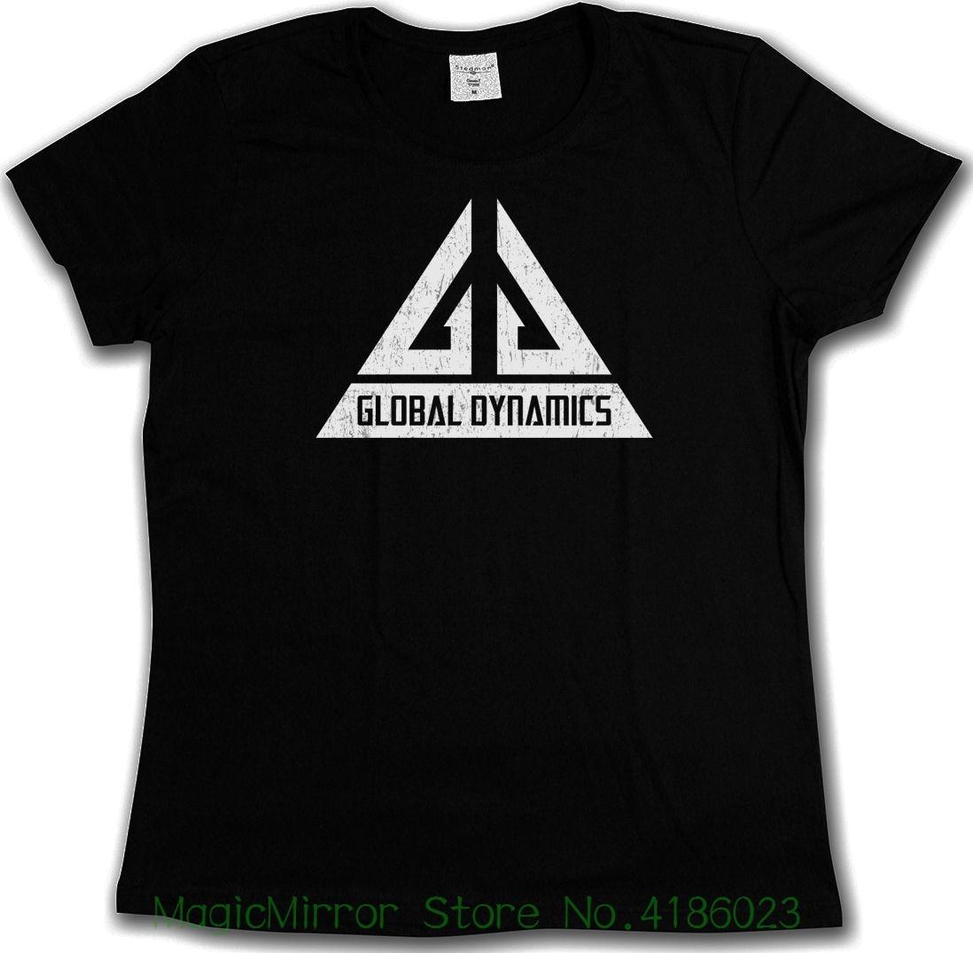 Vintage Global Dynamics Gd Logo T-shirt - Jack Carter Tv Serie Eureka T-shirt Fashion Design Free Shipping
