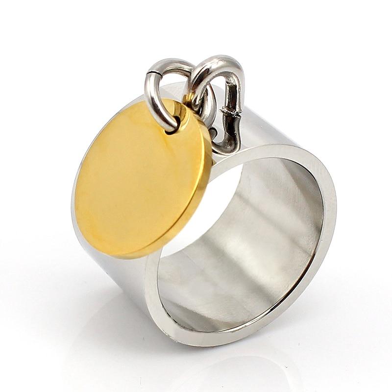 Mode sølvringe anillos rustfrit stål Big Party Charm Ringe til - Mode smykker - Foto 4
