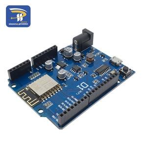 Image 5 - ESP 12F 12E WeMos D1 WiFi UNO Tabanlı ESP8266 kalkanı Arduino R3 Geliştirme kurulu Uyumlu IDE