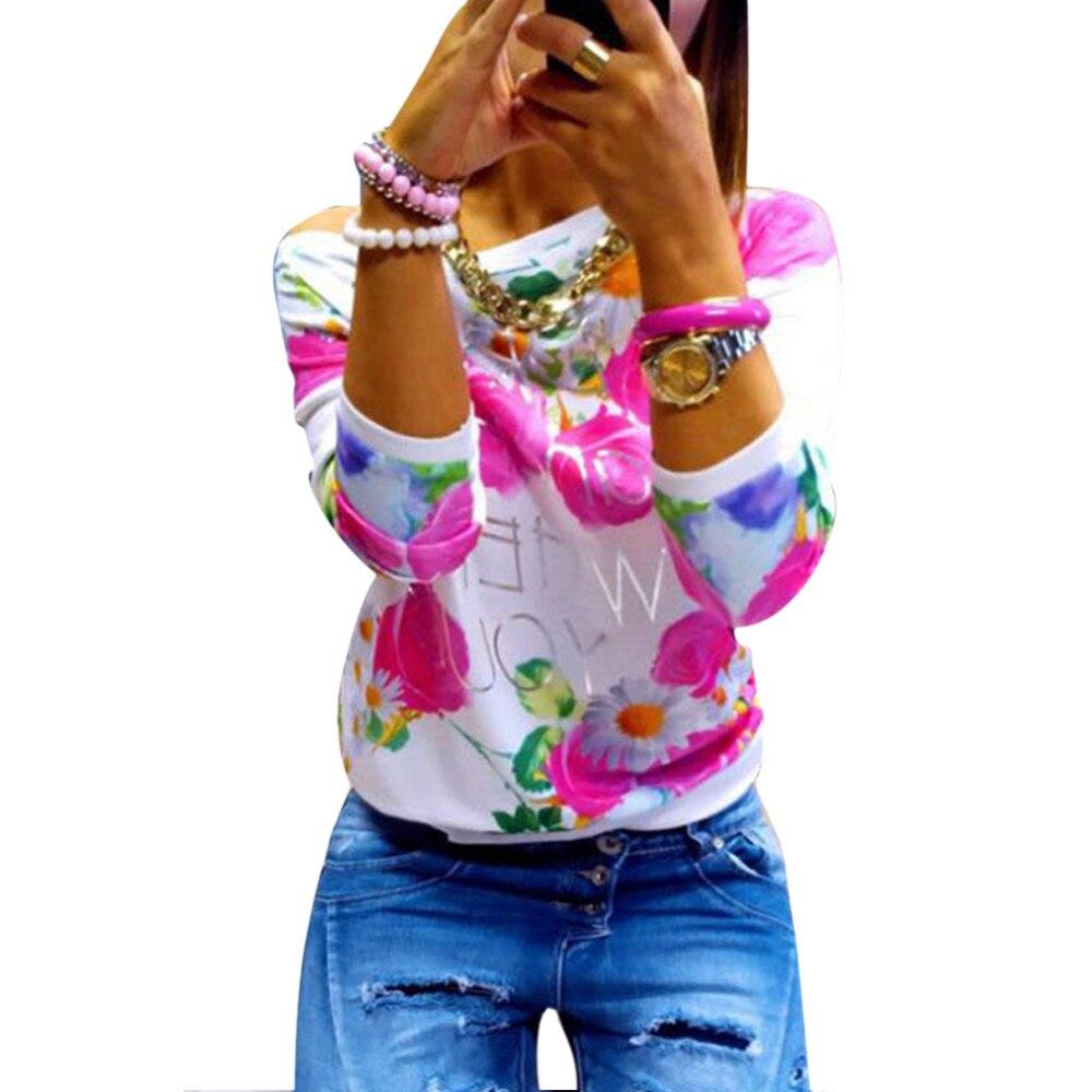 HTB1jWvJKXXXXXX5aXXXq6xXFXXXJ - Autumn Women Girl Long Sleeve Floral Print T Shirts