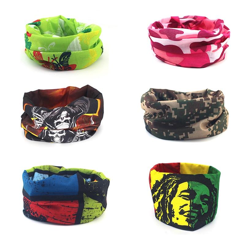16 styles Sport Bicycle hood mask scarf ring scarves Tubular Bandana hip hop Gift for man women Headband neck tube Scarf warmer
