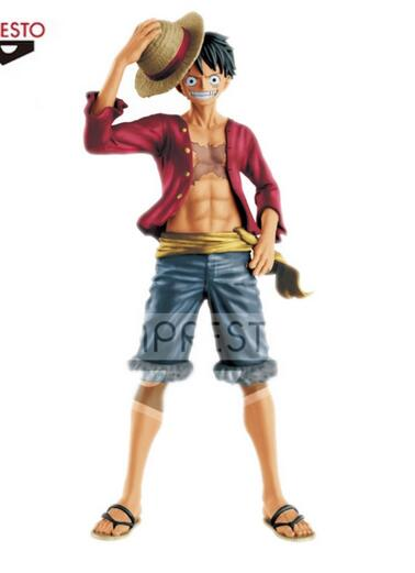 27cm <font><b>One</b></font> <font><b>piece</b></font> <font><b>luffy</b></font> Action Figure PVC New Collection figures toys brinquedos Collection for Christmas gift image