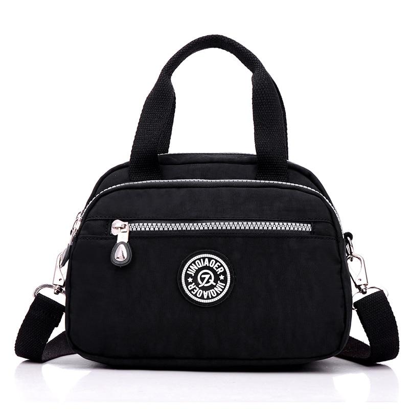 2017 Waterproof Nylon new Fashion Women bags Handbag ZIpper Solid Bag style Travel Casual Bag Shoulder bag tote Bolsas Messenger