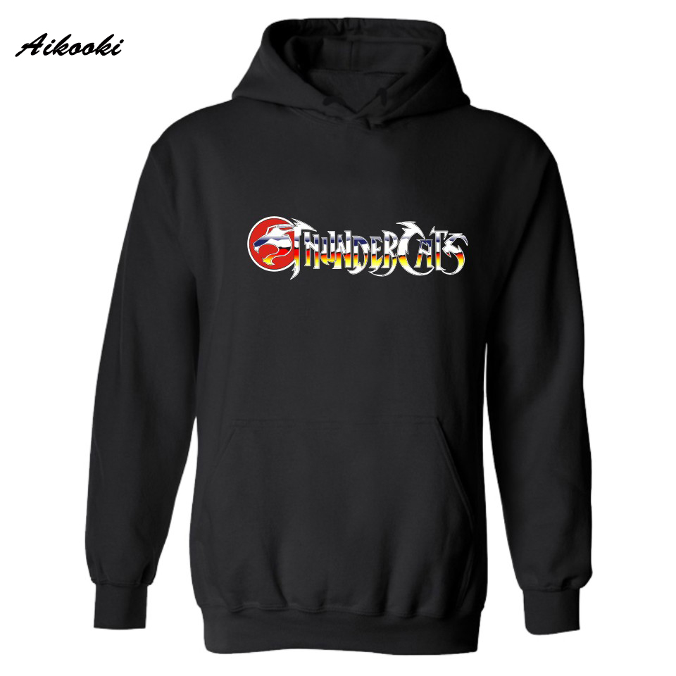 Thundercats Winter Warm Hooded Hoodies Men Luxury Thunder Cats Autumn Mens Hoodies and Sweatshirts Hip Hop Simple Beautiful 2xl