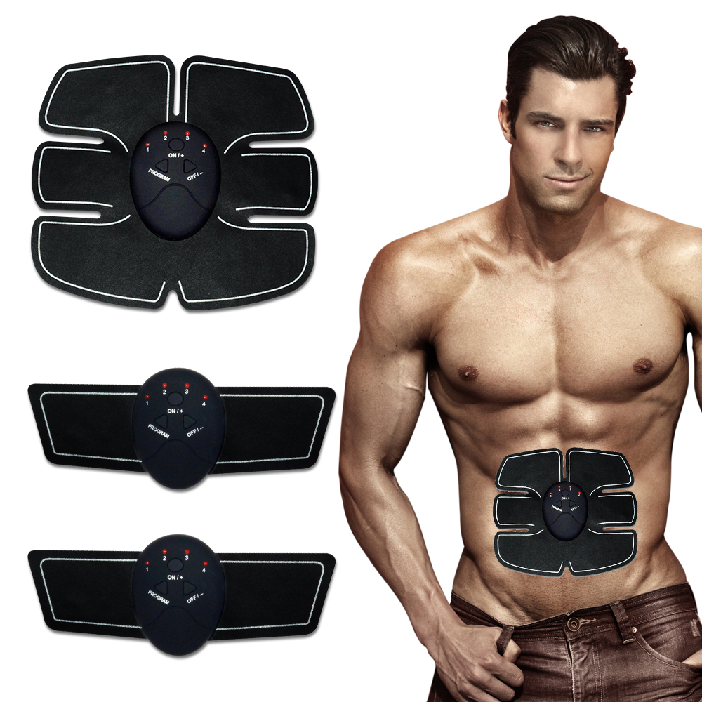 Smart EMS Wireless Electric Massager Electrotherapy Back Pain Relief ABS Muscle Stimulator Abdominal Muscles Trainer portable electric smart fitness gear equipment slim massager ems electrical muscle stimulator muscle stimulator training gear