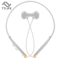 TTLIFE Bluetooth 4 1 Neck Hanging Sports Headset NFC Vibration Wireless Stereo Earphone Noise Reduction CSR