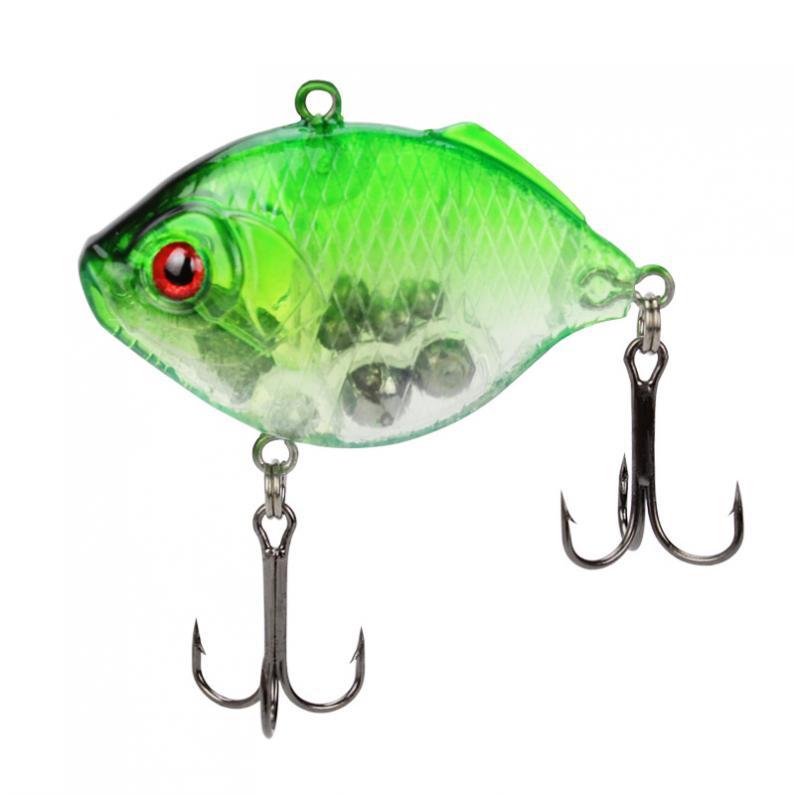 5pcs Hard Fishing Lures Light VIB Sinking Lures Baits Crankbaits Tackle 4.5cm//9g