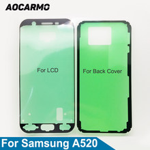 Aocarmo Voor Lcd-scherm Frame Adhesive Back Battery Cover Sticker Lijm Tape Voor Samsung Galaxy A5 (2017) a520 A520F(China)