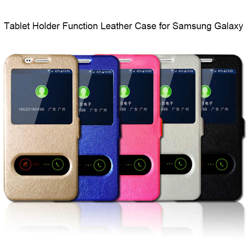 360 Full Cover Leahter dành cho Samsung S9 S8 Plus S10 Lite Flip Cover Lụa dành cho Samsung S6 S7 edge S4 S5 S 9 Note 9 8 5 4 3