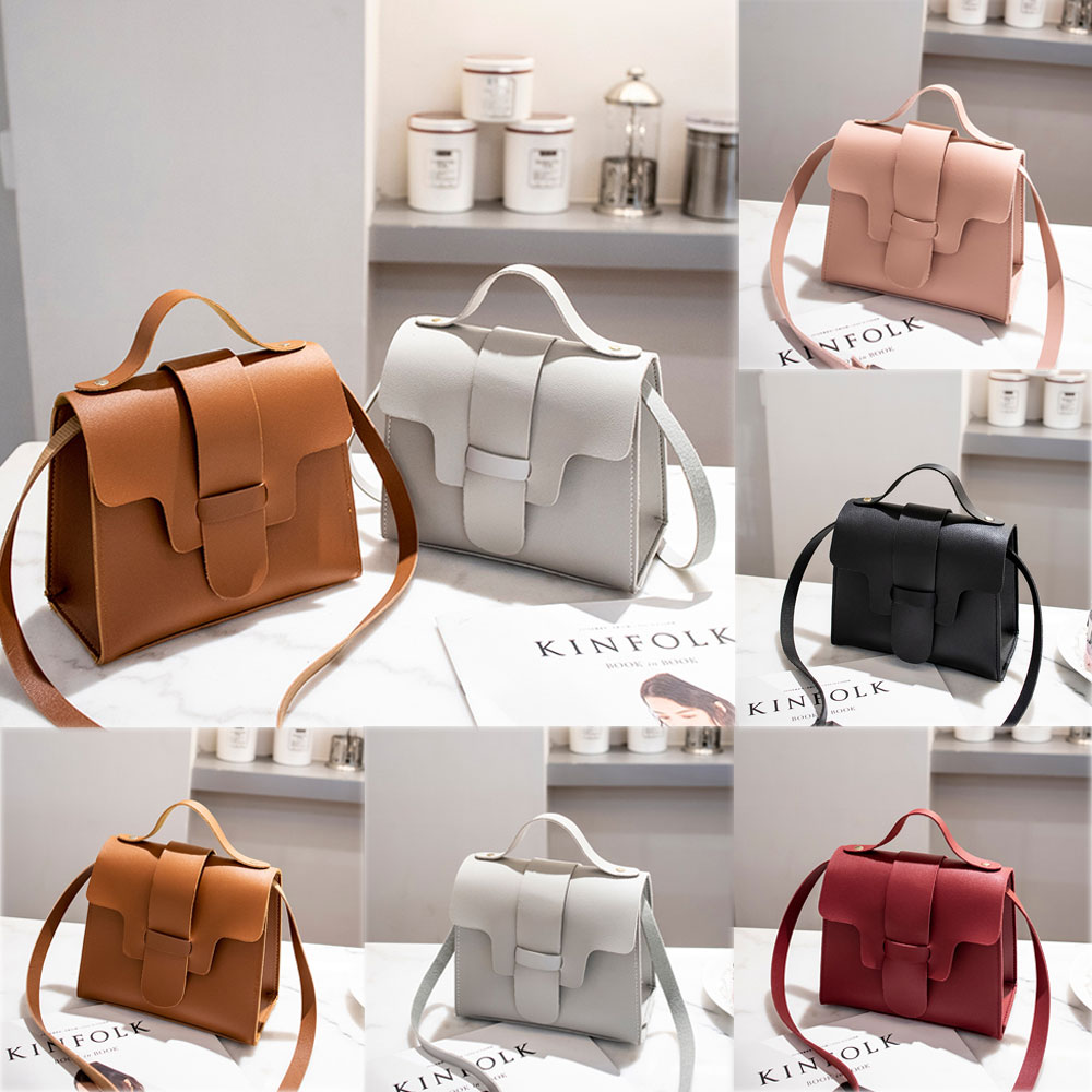Womens Vintage Handbag Shoulder Satchel Cross Body Bag Tote Purse Messenger Bags