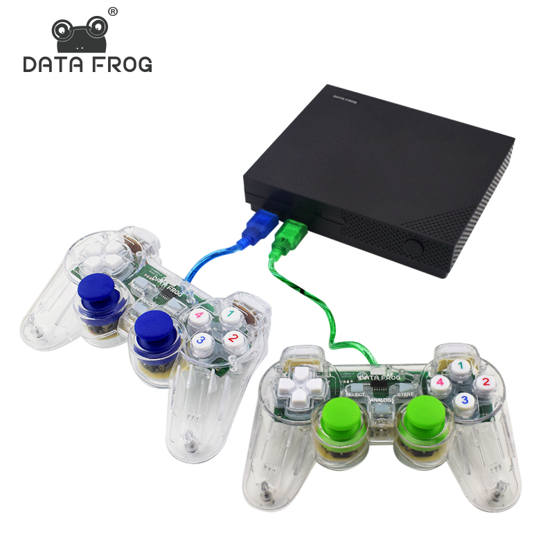Data Frog Retro Video Mini Game console Upgraded version Support HDMI AV Out Built in 1000 Classic Games For all GBA/SNES/MD/FC classic retro game console upgraded