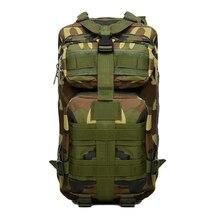 New Outdoor Army Backpack Rucksacks Camping Hiking Trekking Bag 30L Black