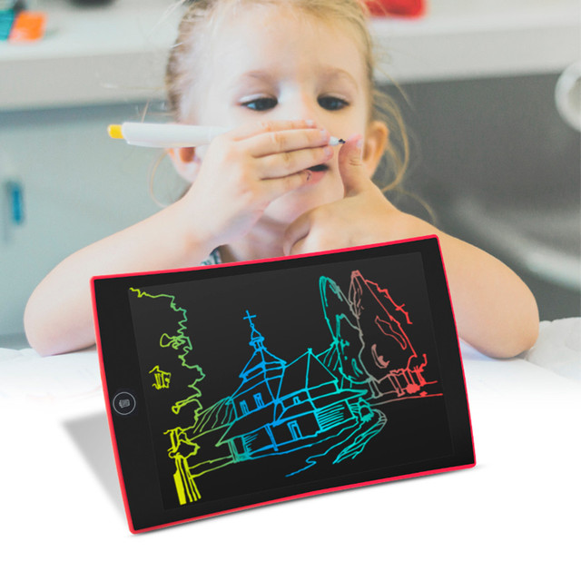 9.5 Inch Color LCD Writing Pad Digital Drawing Tablet Electronic Graphic Board Education Toy Gifts Kid Children Child Creativity