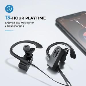 Image 4 - Mpow flamme 2 IPX7 étanche écouteur Bluetooth 5.0 sans fil casque 13H Playtime Sport écouteur pour Iphone X 7 Huawei Xiaomi
