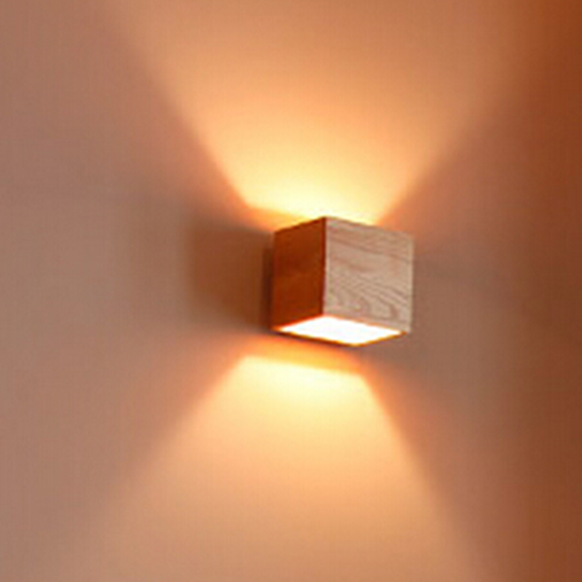 led lighting for living room light blue and white ideas 3w ac85 265v wall sconce square shape fixture ...