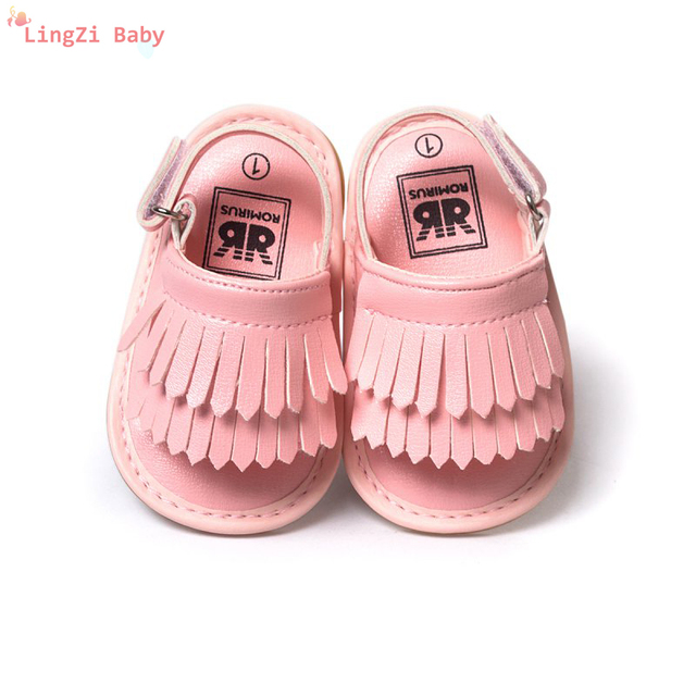 90f0fa18ac Newborn Sandals Summer Baby Girl Shoes Casual Fashion Sandals For Girls PU Baby  Sandals 7 Colors
