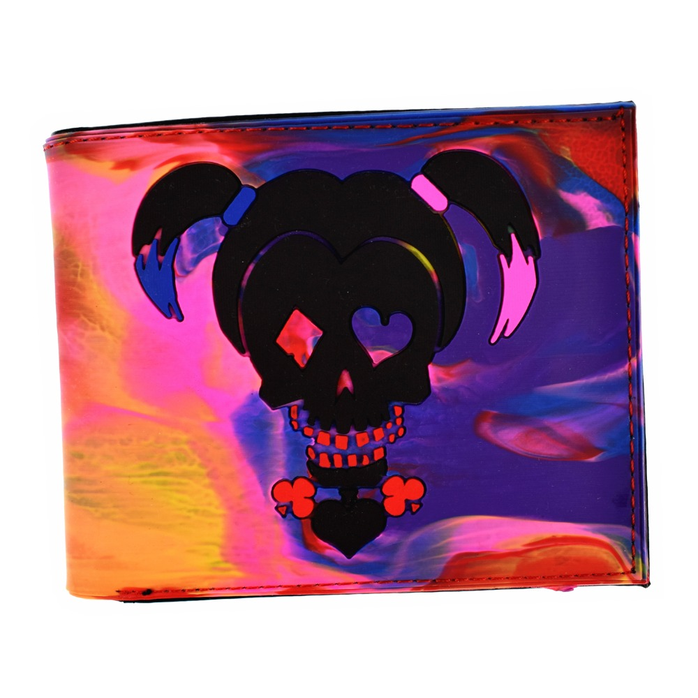 FVIP New PVC Short Men's Wallet Suicide Squad Harley Quinn / Cartoon Rick And Morty / NINTENDO Game Wallets Bi-Fold fvip wholesale wallet ghost busters minions despicable me doctor who rolling stone inside out nintendo wallets