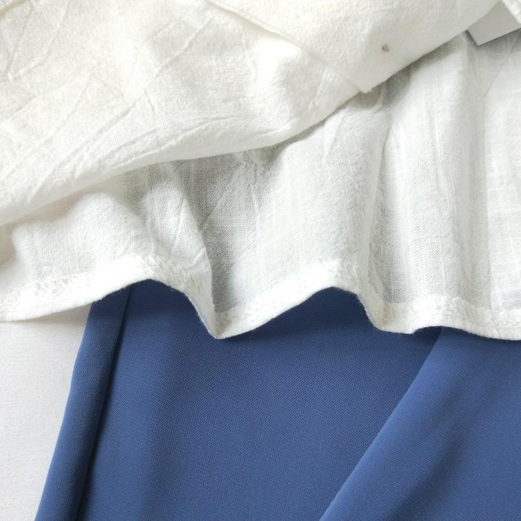 Cotton Linen V-neck Camisole Summer Women Vintage Buttons Cotton Linen Tops Sleeveless Crop Tops 10