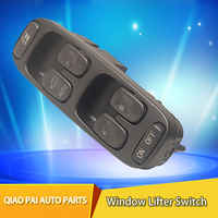 1pc Car Auto Door Lifter Electric Power Window Master Control Switch 8638452 9472276 For Volvo S70 V70 S70 XC70 1998 1999 2000