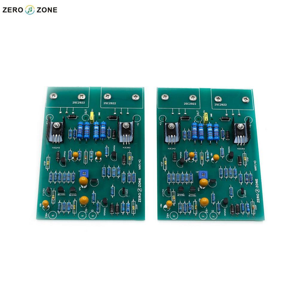 Carte d'amplificateur de puissance NAIM NAP140 de Clone d'assembleld de GZLOZONE (2 canaux)