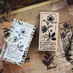 1 шт. цветок резиновое уплотнение цифровой книги по искусству Роза Peach blossom Подсолнечник милые марки дерево ясно штампы для Записки школы DIY