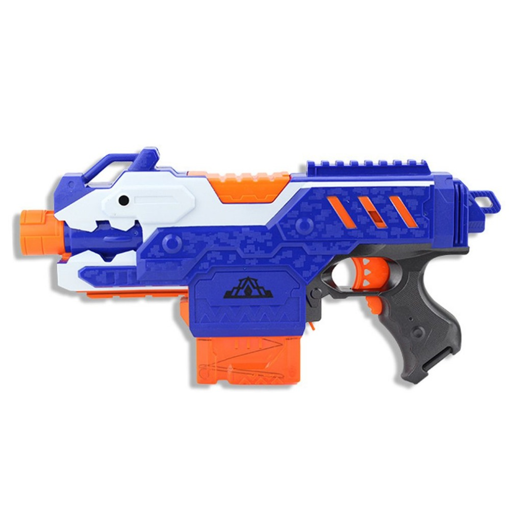 все цены на Drop Shipping Electric Soft Bullets Toy Gun Suit for Nerf Toy Dart Suit For Boy Gift Nerf Gun Toys Fun Outdoor Game Shoot orbeez онлайн