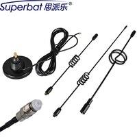 Superbat 1 Set 10dbi 820-2170 MHz Ripetitore Del Segnale GSM 3G Antenna FME + 3G Modem Clip FME Maschio per Universale 3G USB Modem NUOVO