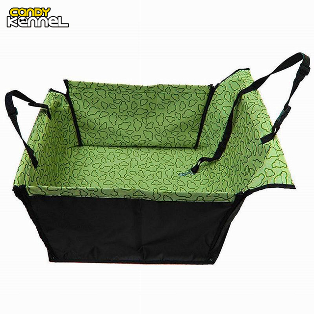 CAWAYI KENNEL PVC Waterproof Small Pet Dog Cat Car Seat Cover Mat Blanket Rear Back Dog Car Seat Protection Hammock D0041 cat hammock for car Cat Hammock For Car HTB1jX