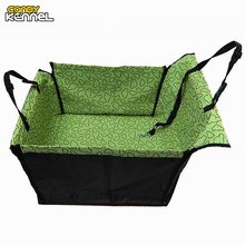 CANDY KENNEL PVC Waterproof Small Pet Dog Cat Car Seat Cover Mat Blanket Rear Back Dog Car Seat Protection Hammock D0041